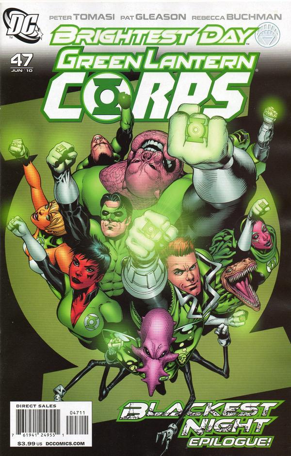 Green Lantern Corps #47