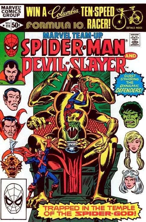 Marvel Team-Up #111