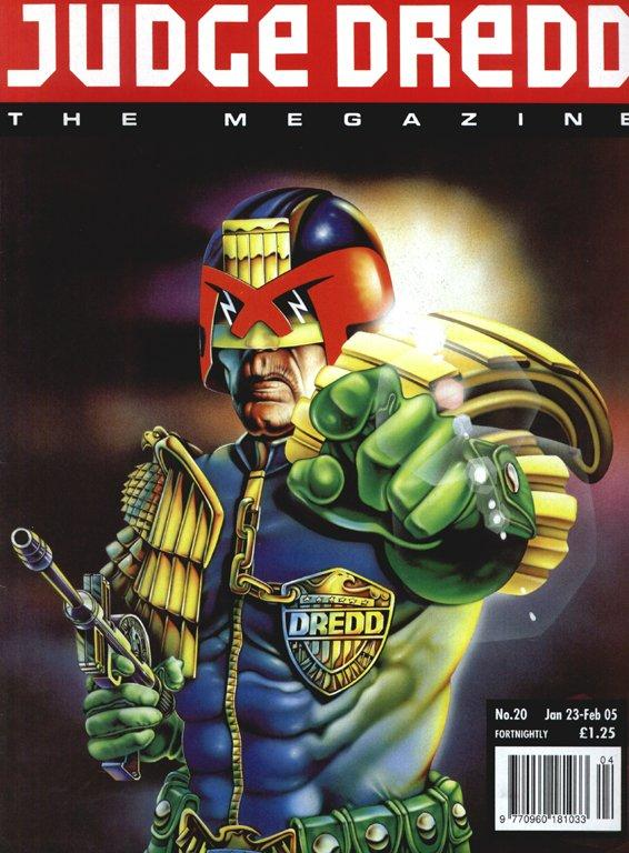 Judge Dredd: The Megazine #20