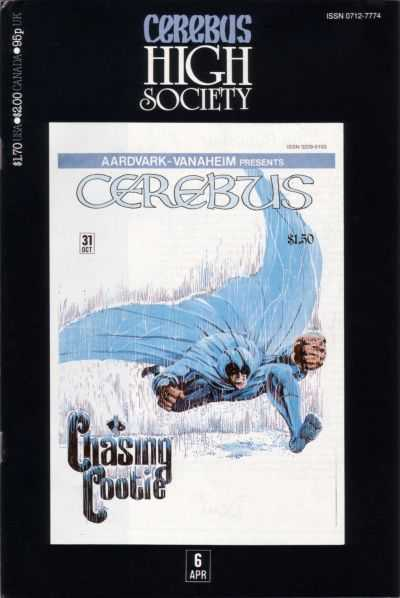 Cerebus High Society #6