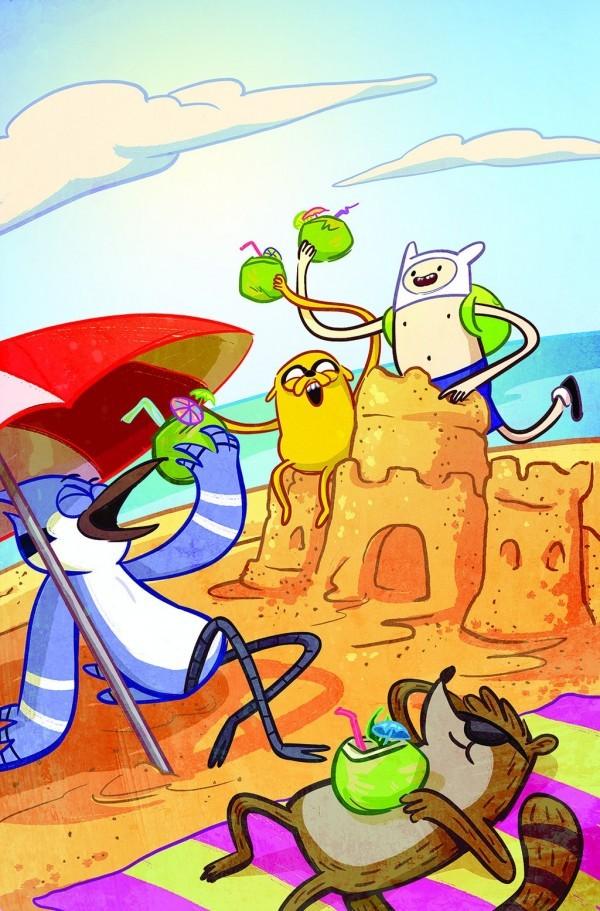 Adventure Time / Regular Show #1