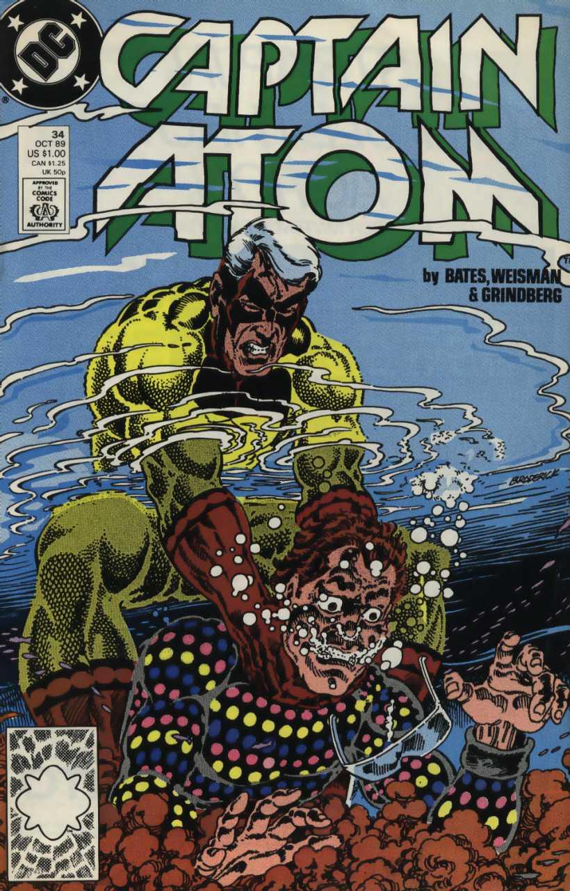 Captain Atom #34