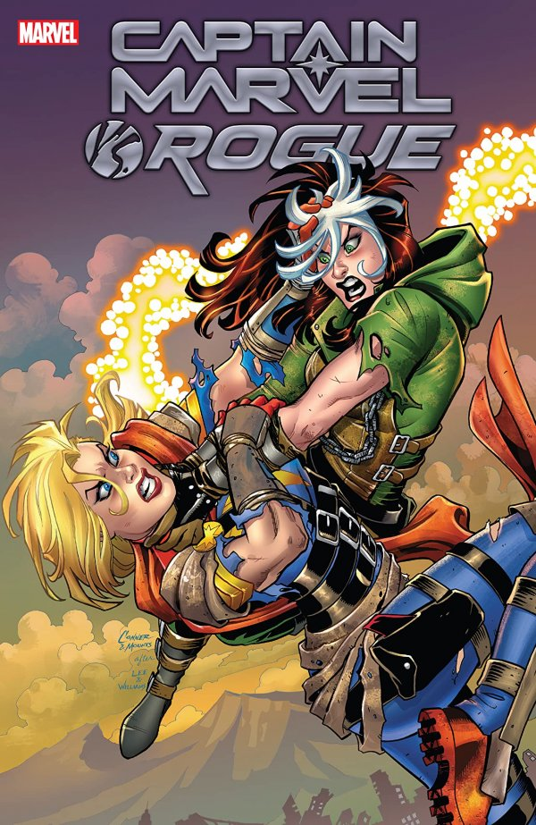Captain Marvel vs. Rogue TP