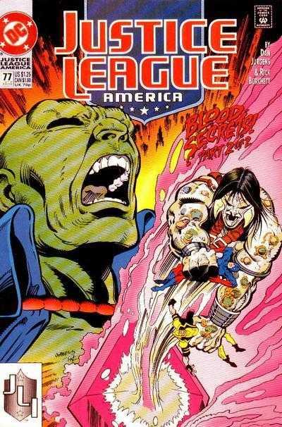 Justice League America #77