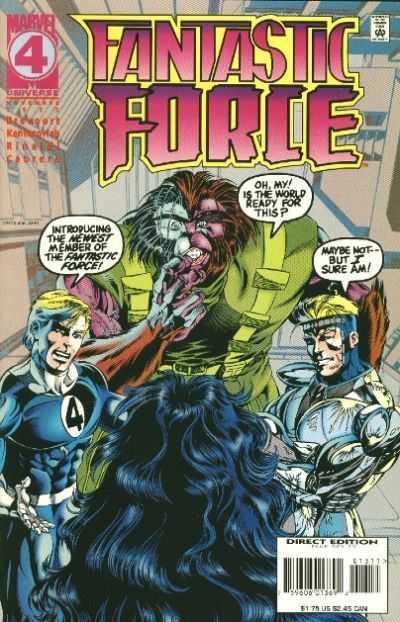 Fantastic Force #13