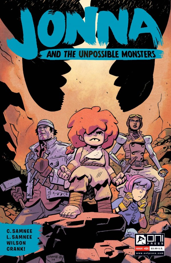 Jonna and The Unpossible Monsters #4