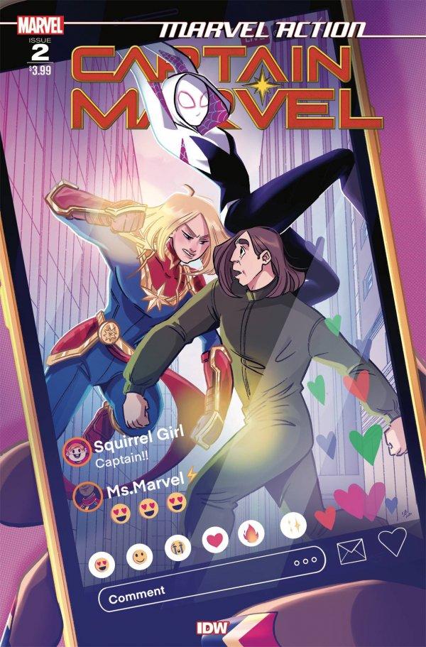 Marvel Action: Captain Marvel #2