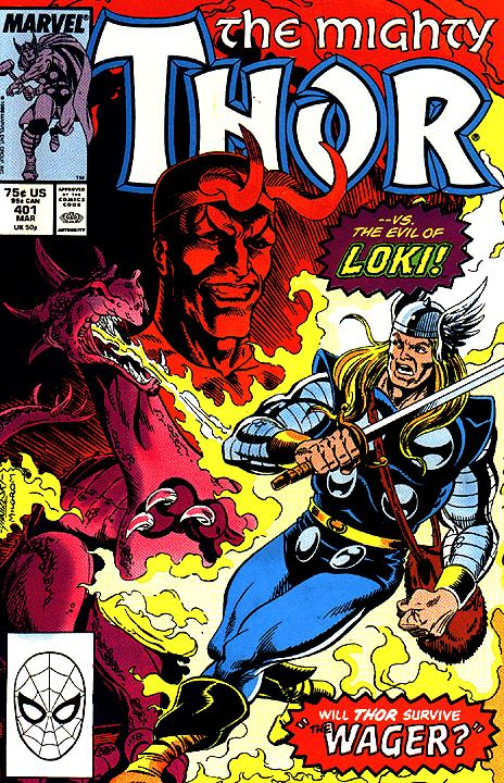 The Mighty Thor #401