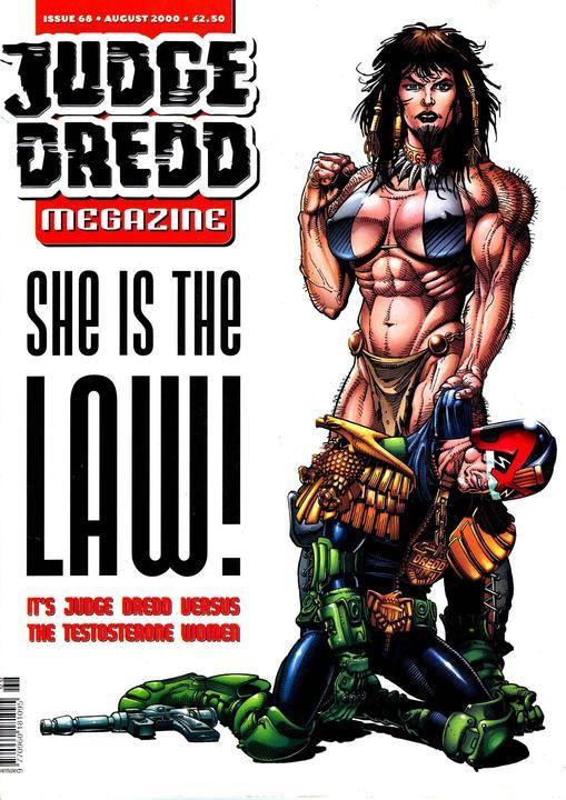 Judge Dredd Megazine #68