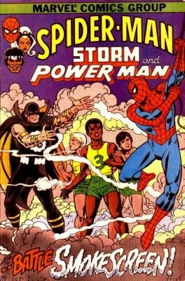Spider-Man, Storm and Power Man #1