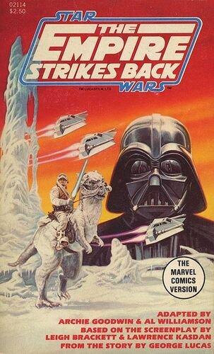 Marvel Illustrated Books Version of The Empire Strikes Back