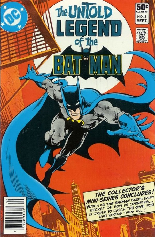 The Untold Legend of the Batman #3