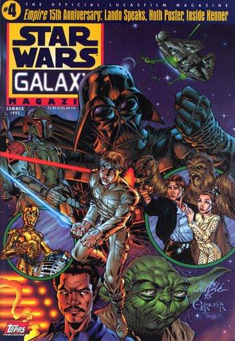 Star Wars Galaxy Magazine #4