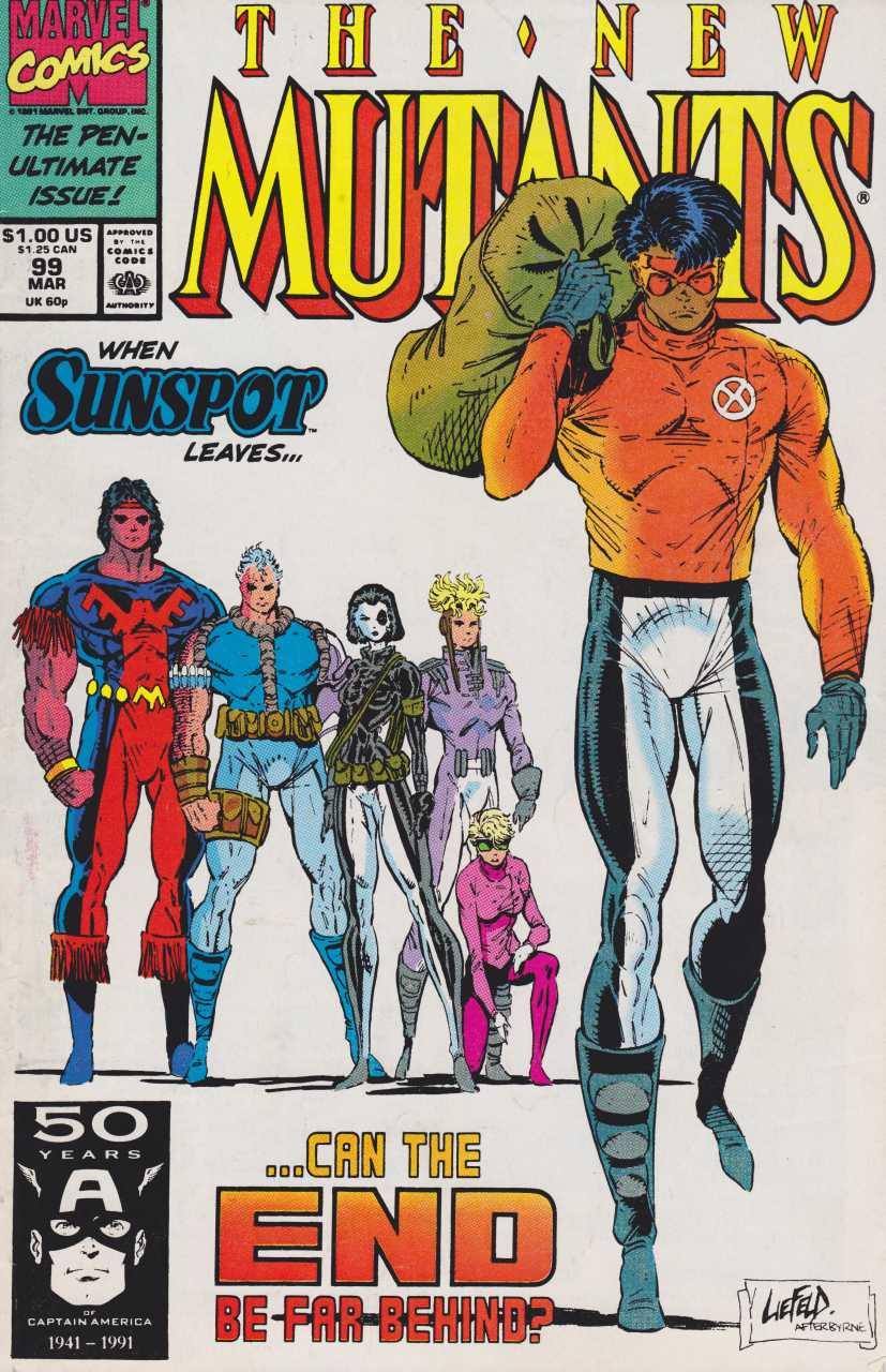 The New Mutants #99