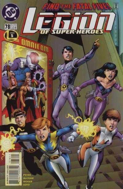 Legion of Super-Heroes #78