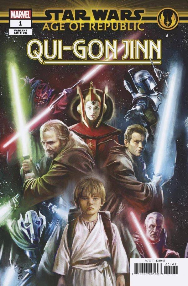 Star Wars: Age of Republic - Qui-Gon Jinn #1
