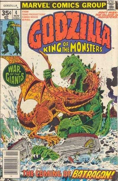 Godzilla: King of the Monsters #4