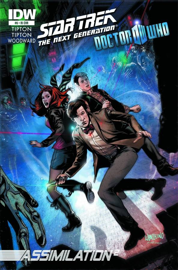 Star Trek: The Next Generation / Doctor Who - Assimilation2 #6