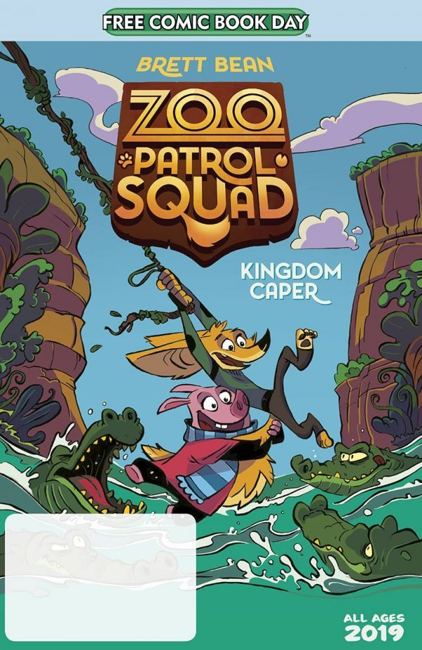 Free Comic Book Day 2020: Zoo Patrol Squad - Kingdom Caper