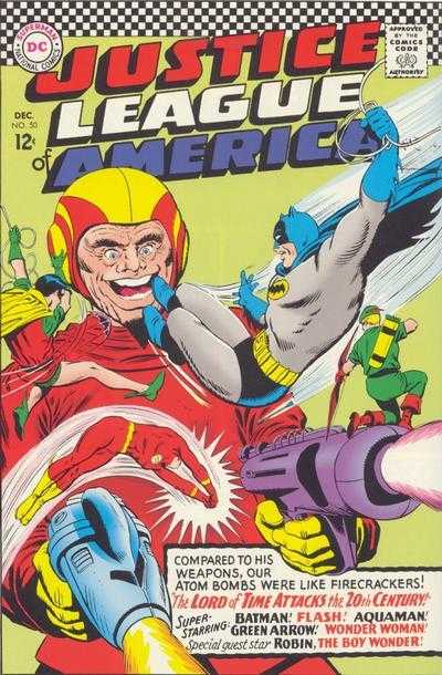 Justice League of America #50