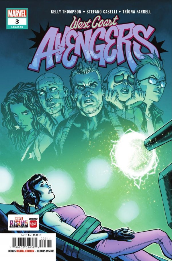 West Coast Avengers #3
