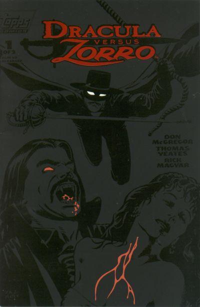 Dracula Versus Zorro #1
