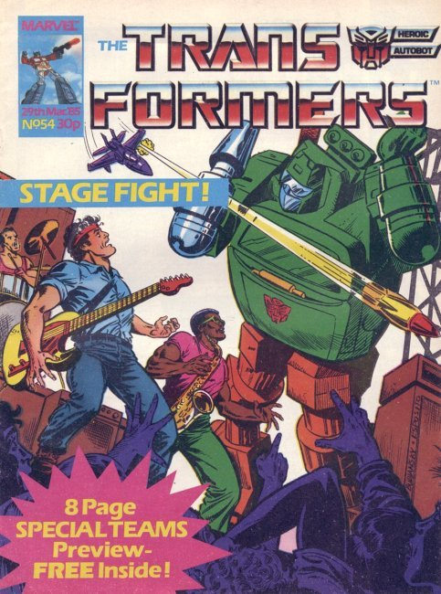 The Transformers #54