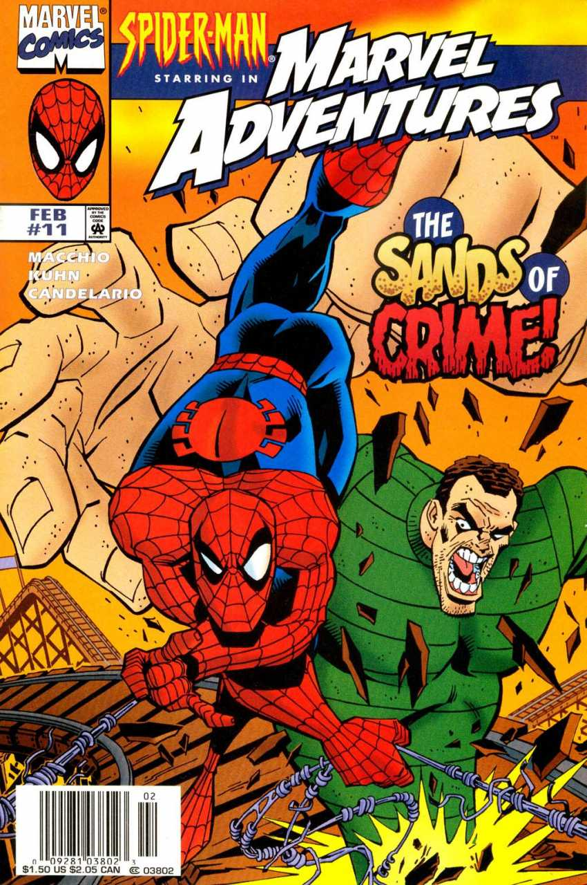 Marvel Adventures #11