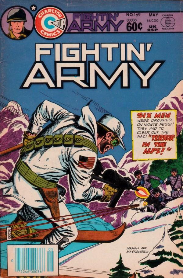 Fightin' Army #169