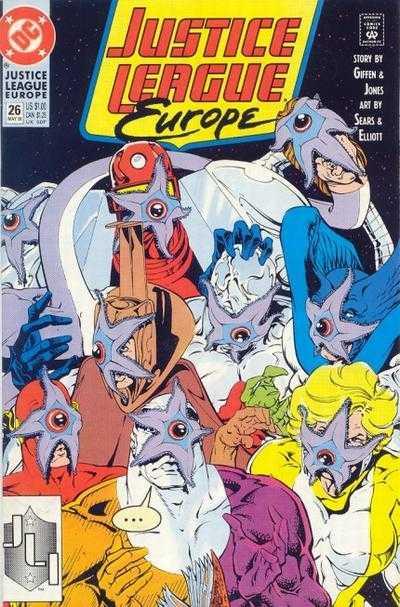 Justice League Europe #26