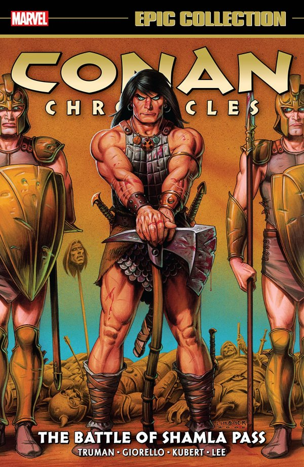Conan Chronicles Epic Collection: The Battle of Shamla Pass TP