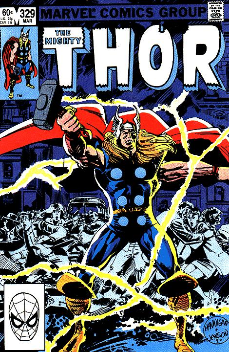 The Mighty Thor #329