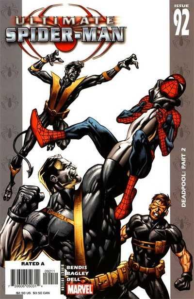 Ultimate Spider-Man #92