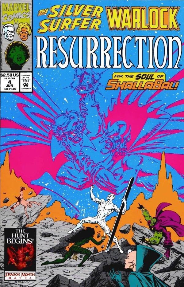 Silver Surfer / Warlock: Resurrection #4