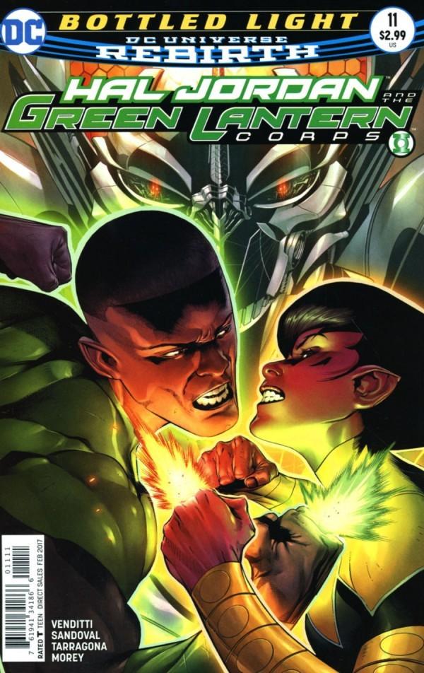 Hal Jordan and the Green Lantern Corps #11