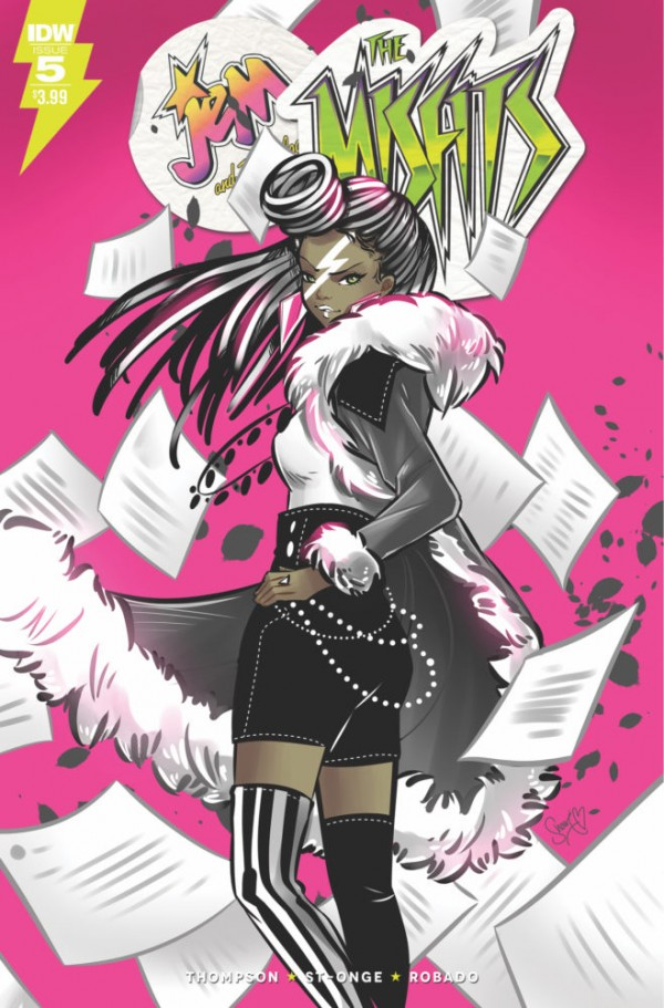 Jem and The Misfits #5
