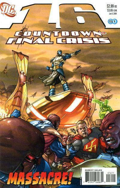Countdown to Final Crisis #16