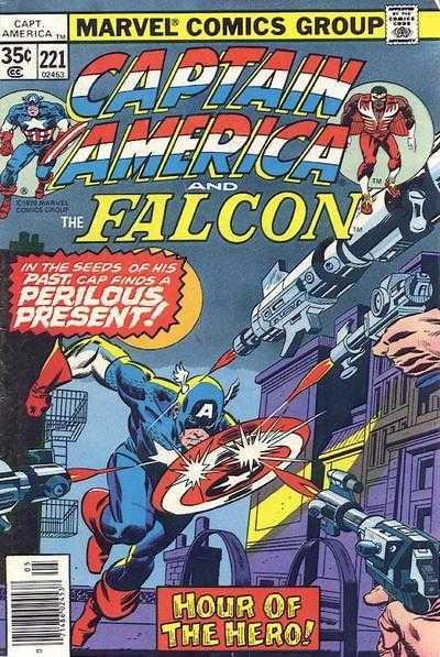 Captain America #221