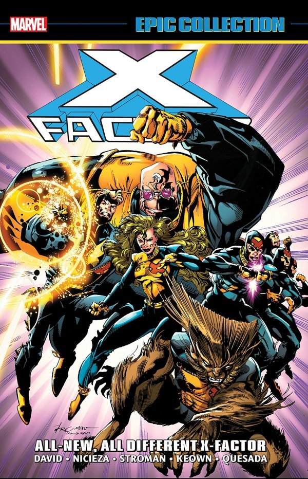 X-Factor Epic Collection: All-New, All-Different X-Factor TP