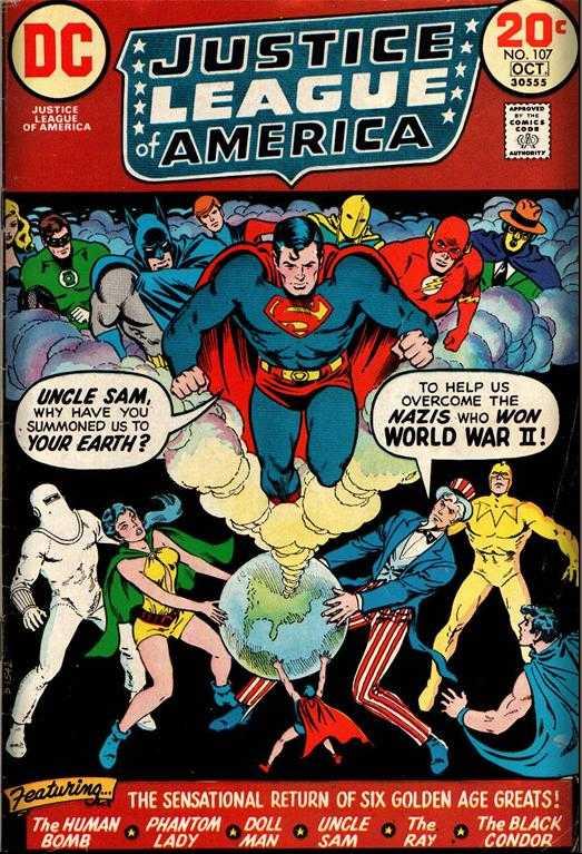 Justice League of America #107