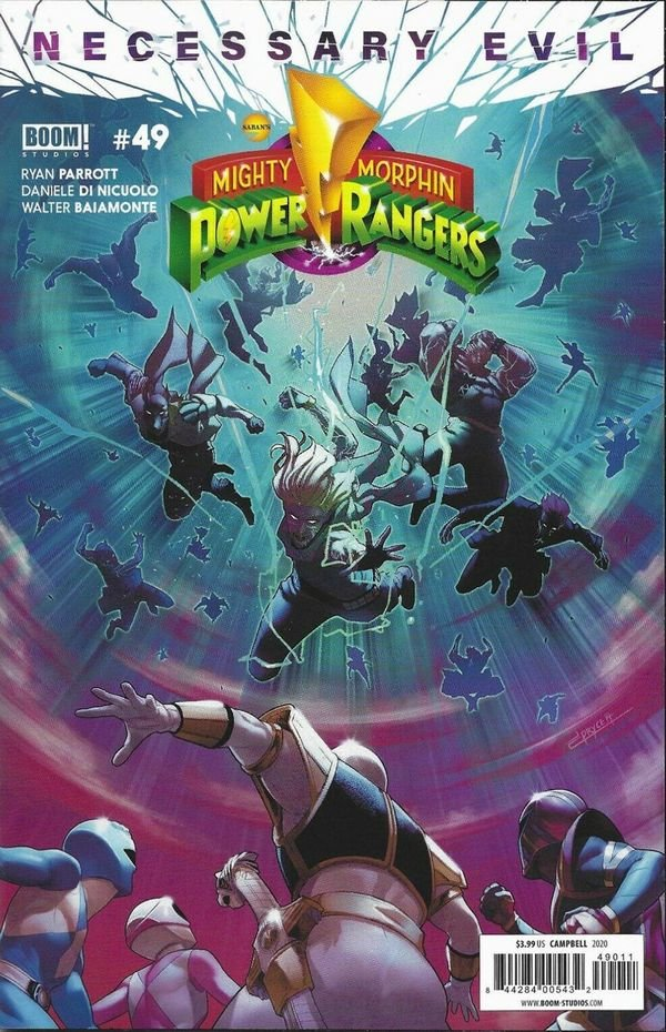 Mighty Morphin Power Rangers #49 review
