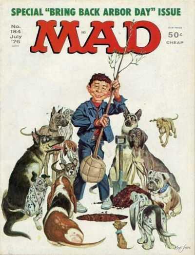 Mad Magazine #184