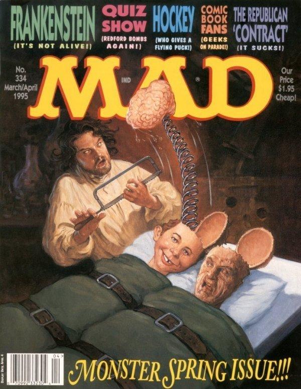 Mad Magazine #334
