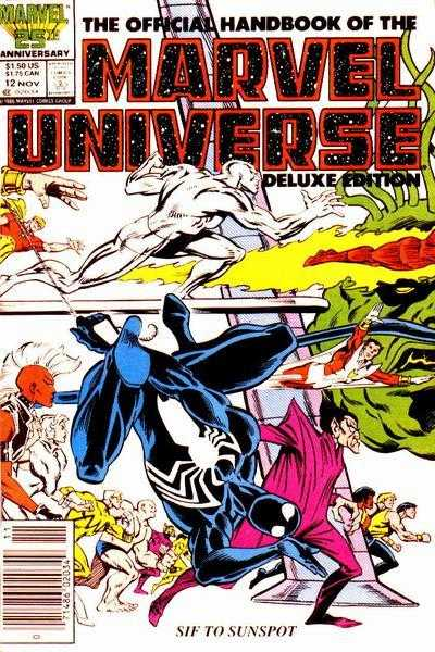 The Official Handbook of the Marvel Universe #12