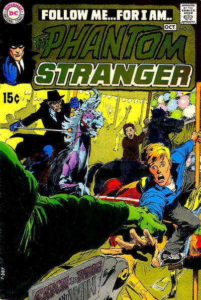 The Phantom Stranger #3