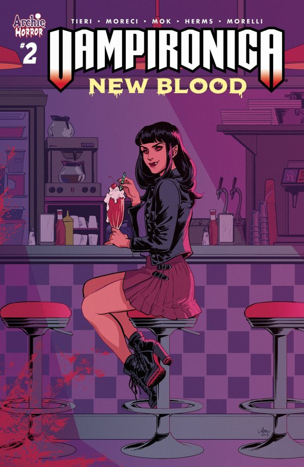 Vampironica: New Blood #2 review