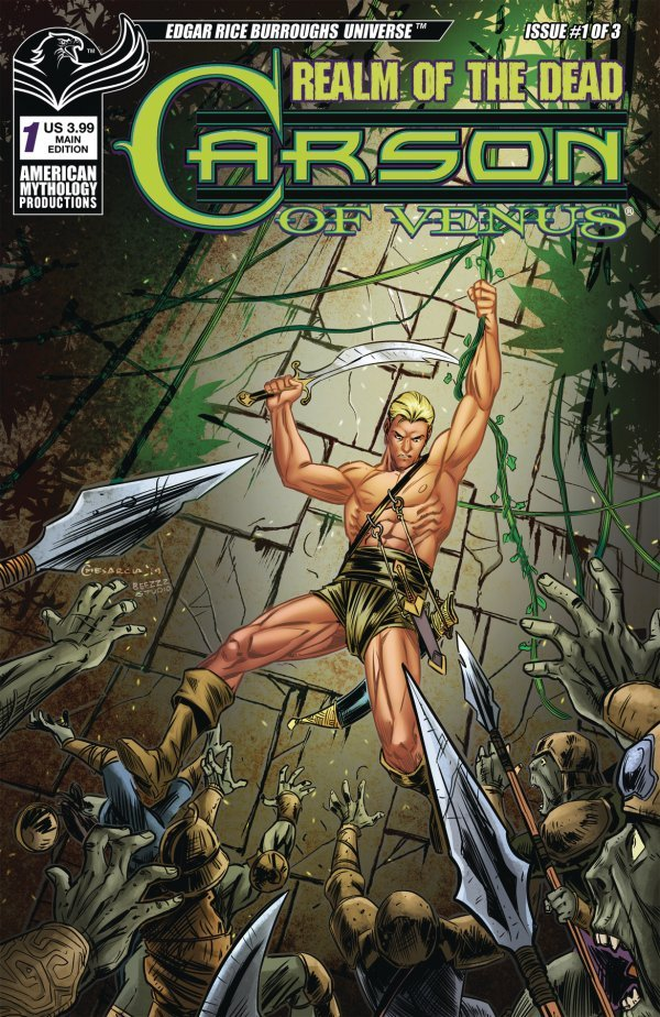 Carson of Venus: Realm of the Dead #1 review