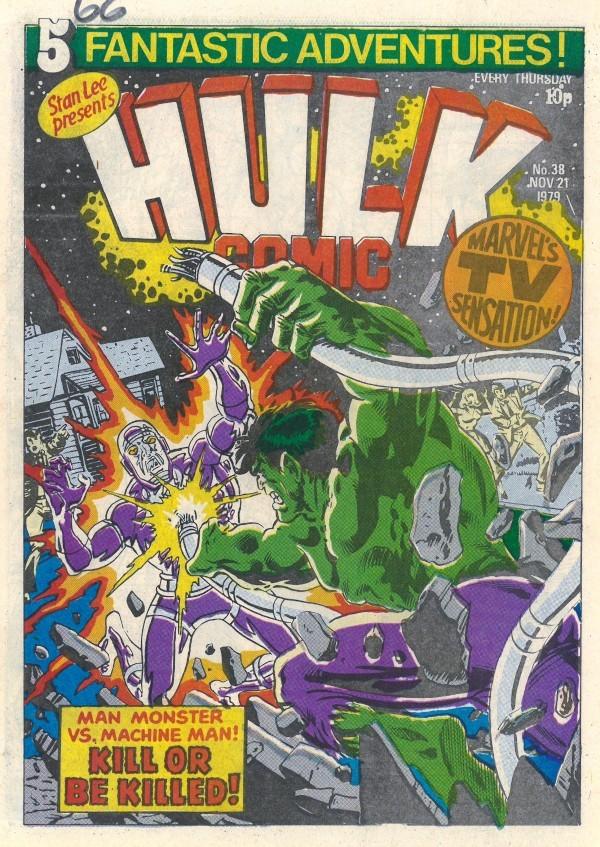 Hulk Comic #38