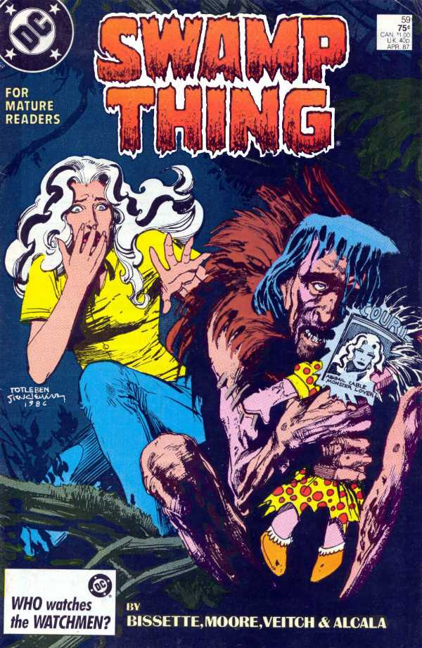 The Saga of the Swamp Thing #59