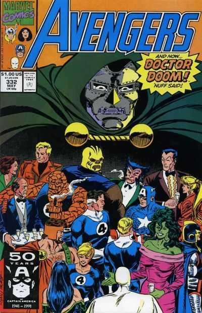 The Avengers #332